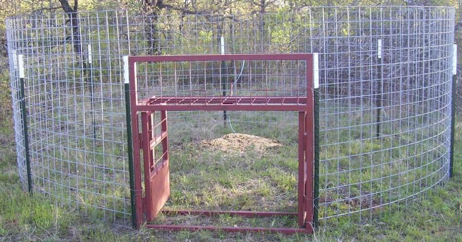 how to build a horse chute